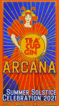 ARCANA-TEA-CUP-GIN-SOLSTICE-POSTER