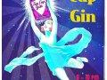 Tea Cup Gin Mellow Mush Poster