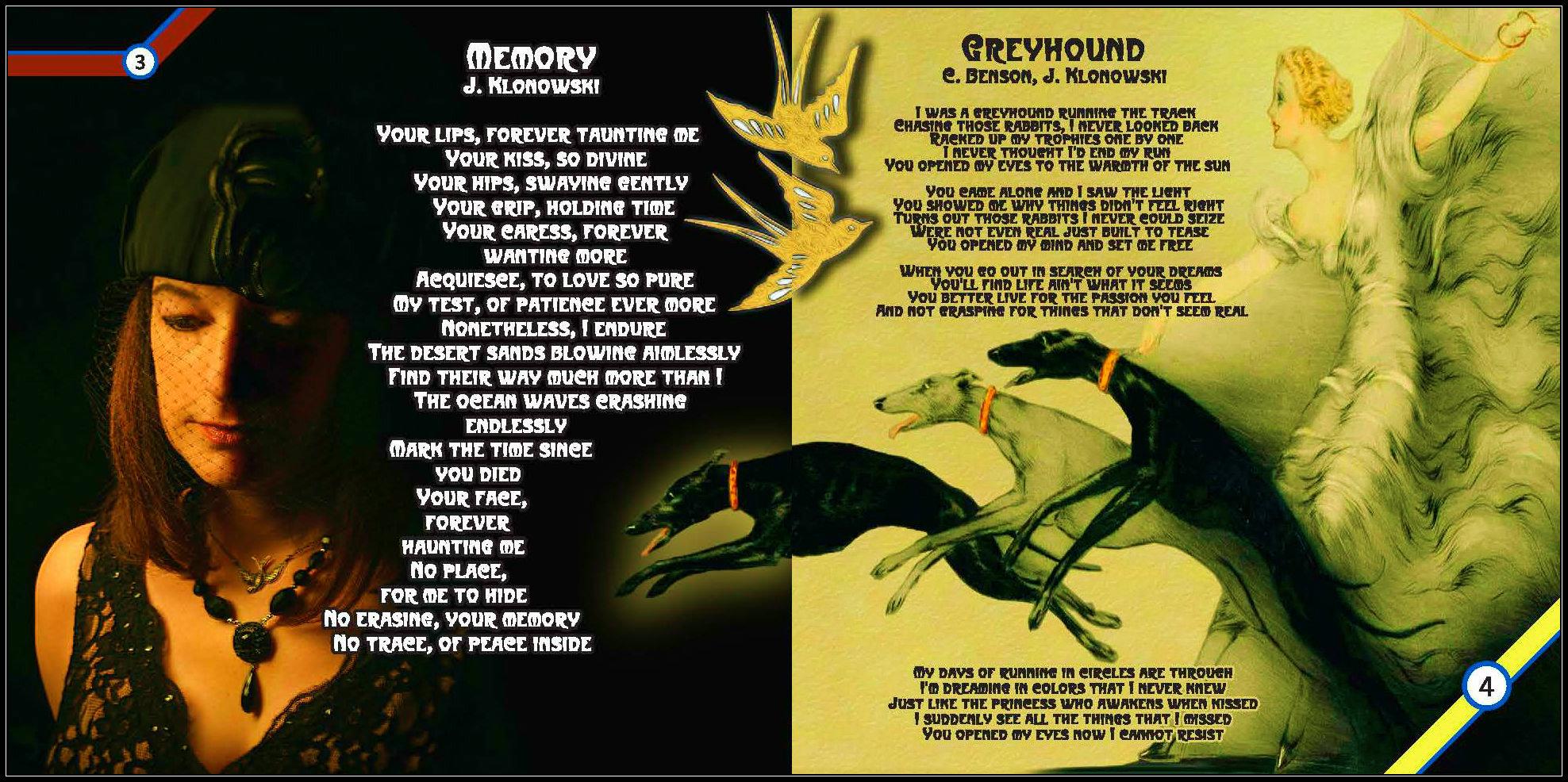 """""""Memory"""" and """"Greyhound"""""""