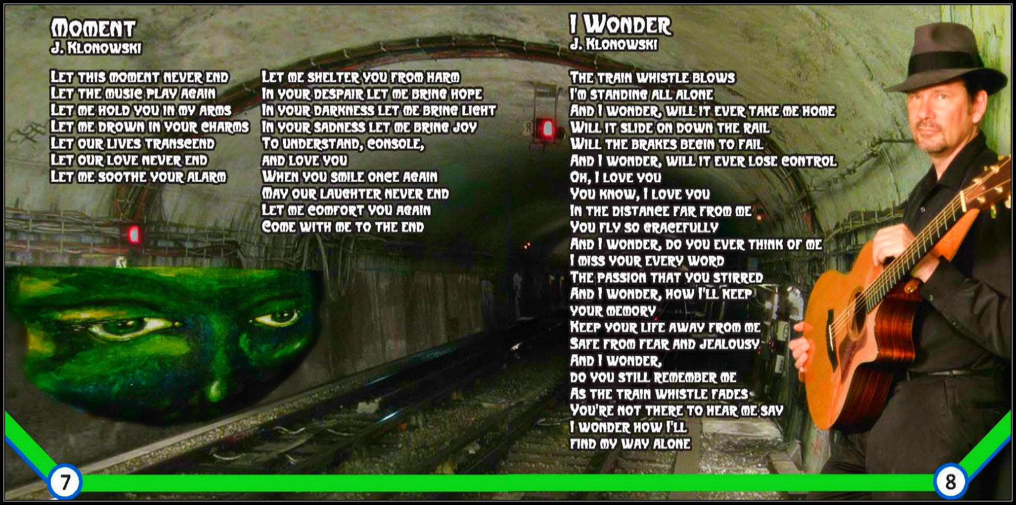 """Moment"" and ""I Wonder"""